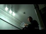 Как правильно ловить паука :D